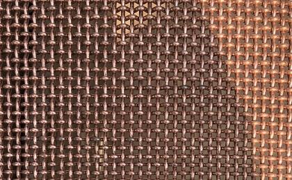 铜丝轧花网